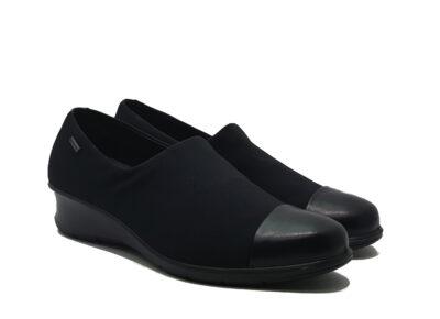 Felicia Black/Black Luxe/Textile