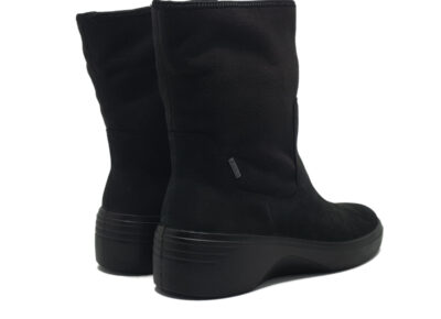 Soft 7 Wedge BlackBlack MoonTextile