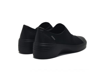 Soft 7 Wedge BlackBlack DrittonTextile